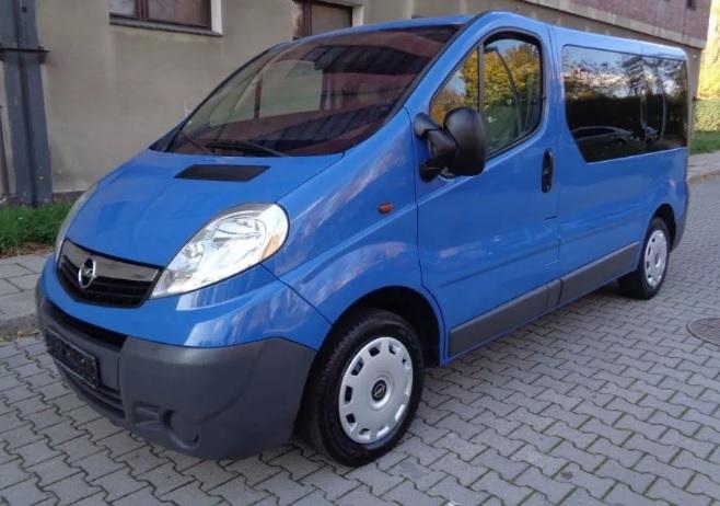 Opel Vivaro na wynajem